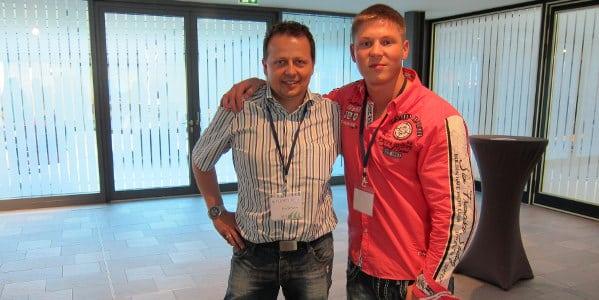 Internet Marketing Unternehmer Roland Hamm und Kris Stelljes