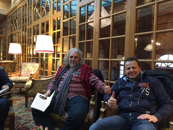 Jahresklausur - Teetime im Kulm Hotel St. Moritz