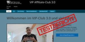 Testbericht Vip Affiliate Club 3.0 Erfahrungen