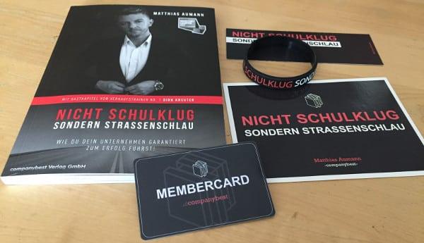 Matthias Aumann Buch - Nicht schulklug sondern strassenschlau