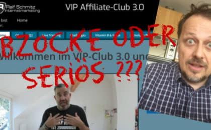 Vip Affiliate Club Erfahrungen Ralf Schmitz