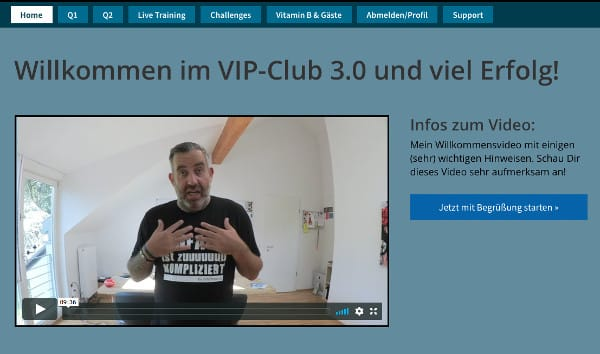 Vip Affilliate Club 3.0 Ralf Schmitz Internetmarketing