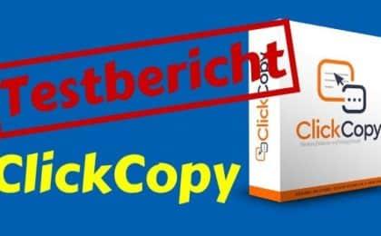 ClickCopy Erfahrungen und Testbericht