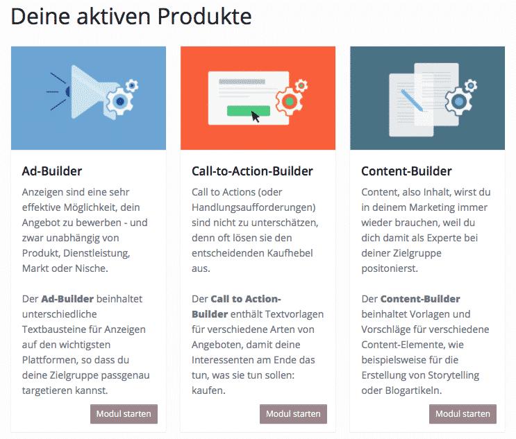 CopyBuilder - Werbetexte schreiben