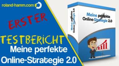 Meine perfekte Online-Strategie 2.0 Erfahrungen