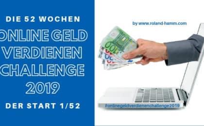online Geld verdienen Challenge