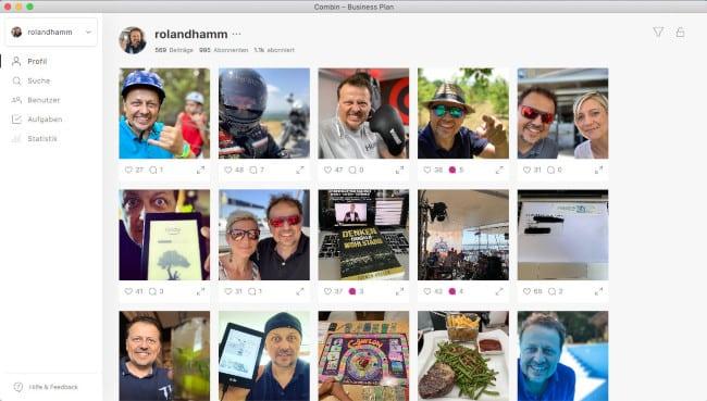 Combin für Instagram Tool