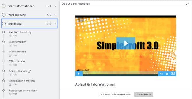 Online Marketing Kurse - Simple Profit 3