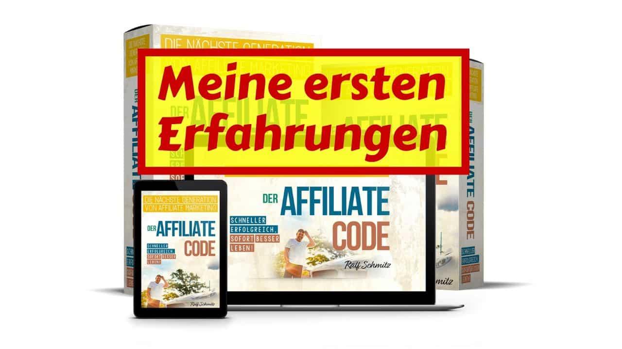 Der Affiliate Code von Ralf Schmitz – Meine Erfahrungen inkl. 1050 Euro Bonus von mir
